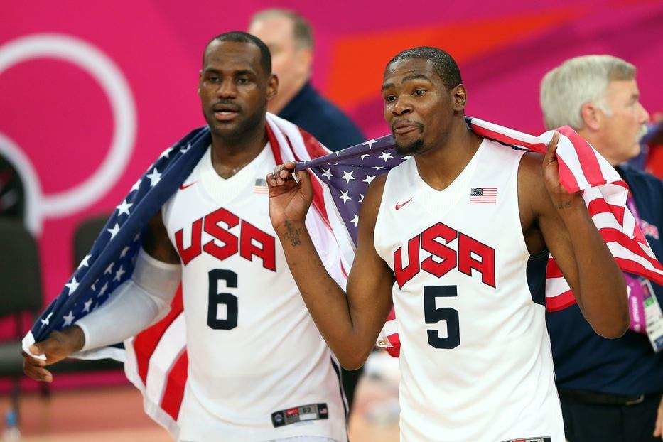 Durant será la estrella líder en equipo olímpico de EEUU, plagado de novatos
