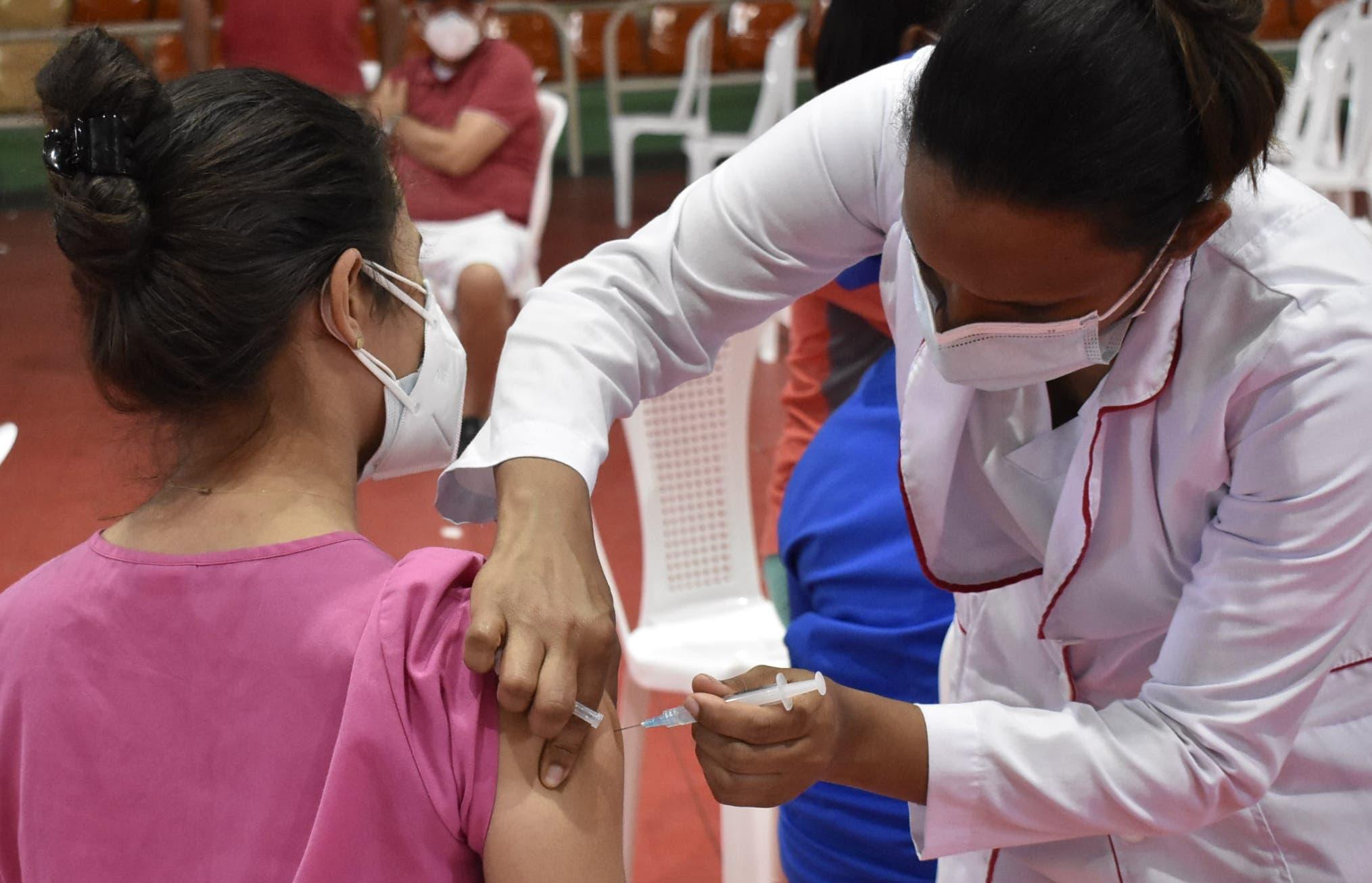 En el Distrito Nacional hay un 97.1%  vacunado con la primera dosis