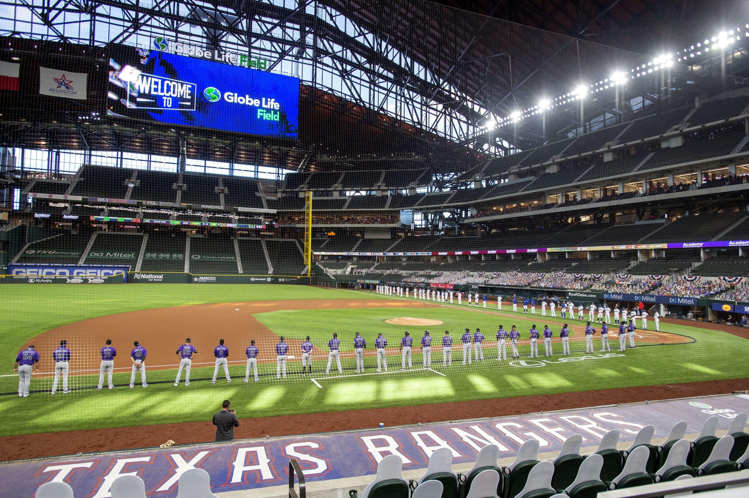 MLB: Rangers serían primer equipo con estadio lleno