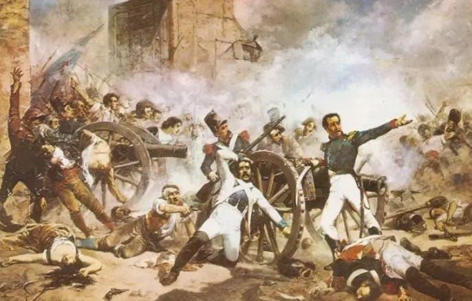 Hoy se conmemora el 177 aniversario de la Batalla del 19 de marzo