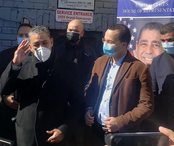 Congresista reitera apoyo a Oswald Féliz para concejal distrito 15 en El Bronx