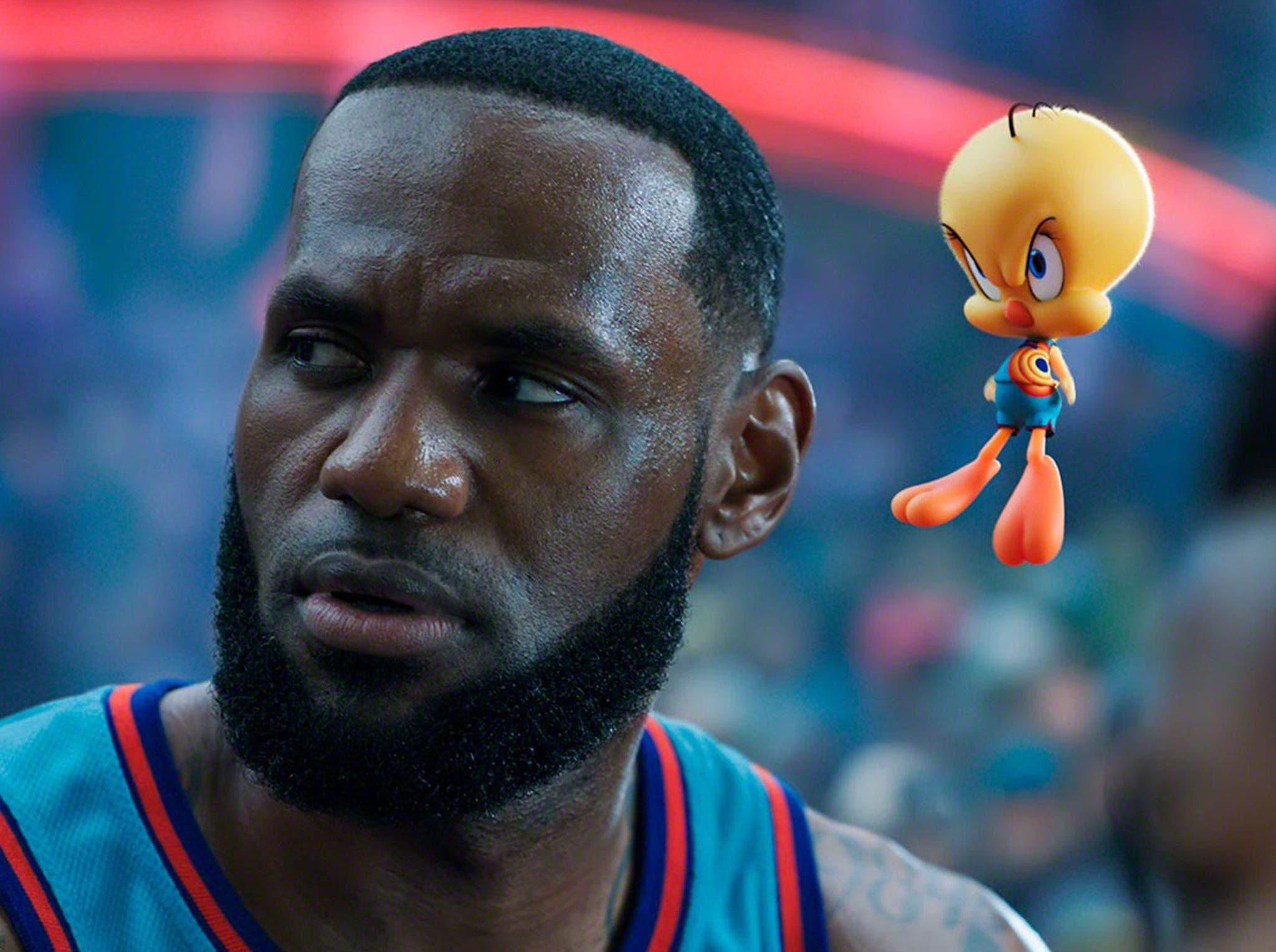 """LeBron James lidera la taquilla en cines de EE.UU. con la nueva """"Space Jam»"""