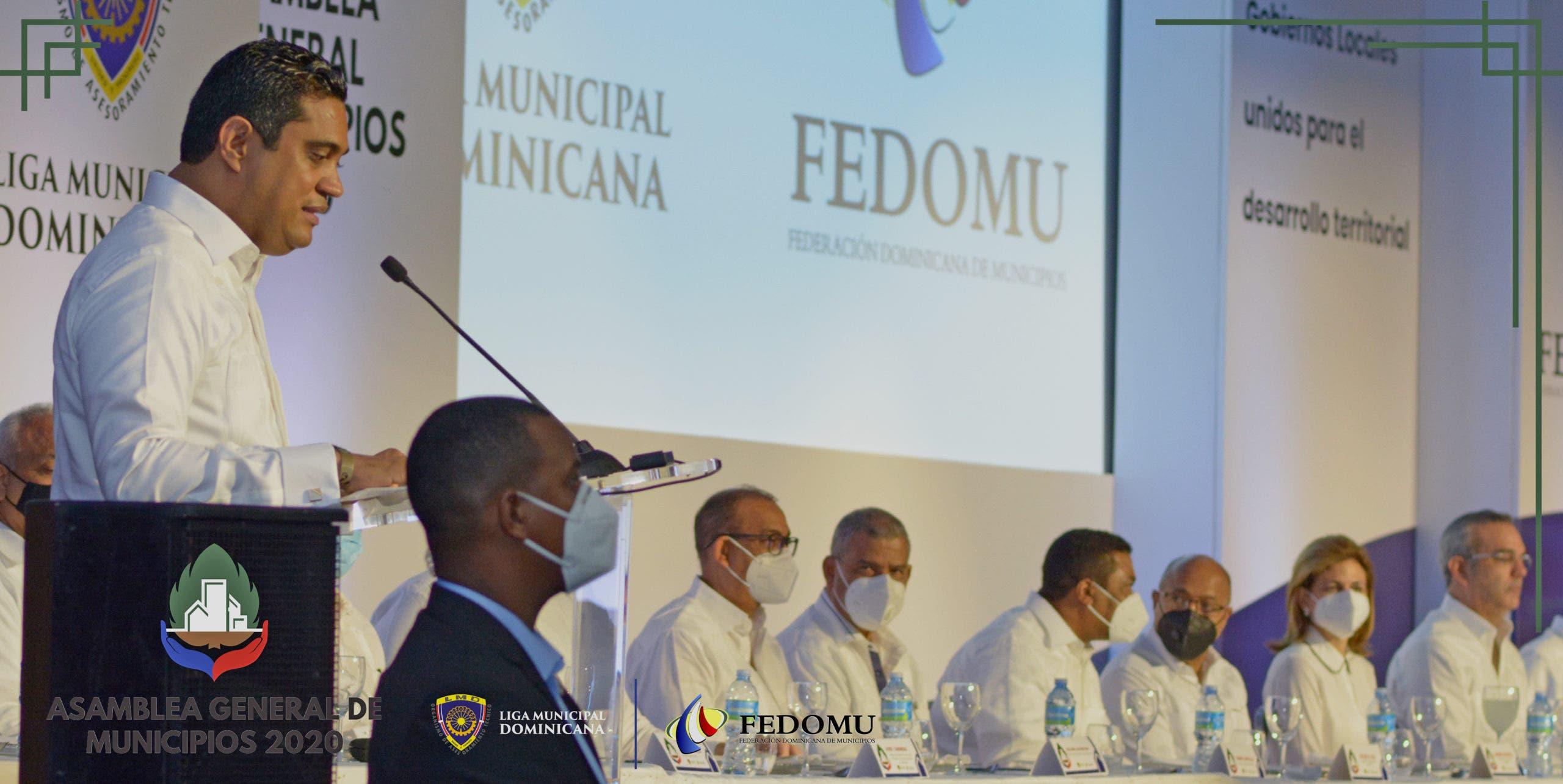 Primeros 100 días de Kelvin Cruz en Fedomu marcan continuidad desarrollo de gobiernos locales