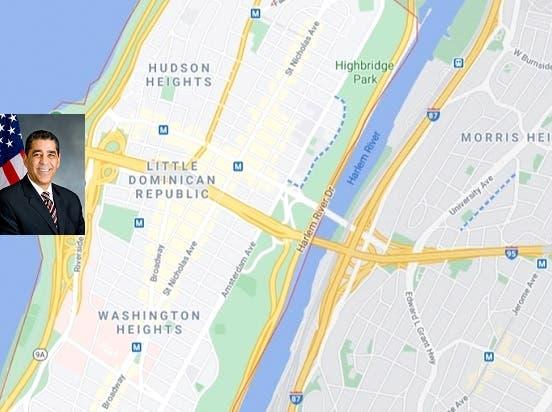 """Google acoge resolución de Espaillat e identifica Alto Manhattan como """"Pequeña República Dominicana"""""""