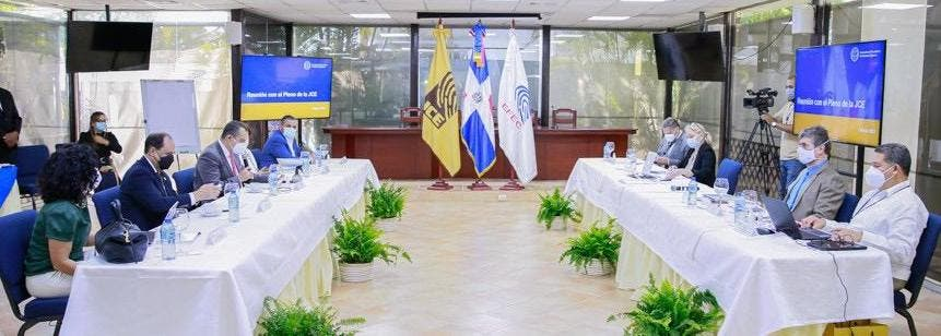 JCE e IFES inician trabajos para el diseño del Plan Estratégico Institucional