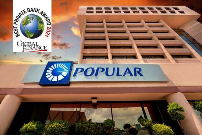 Global Finance reconoce al Popular como la mejor banca privada