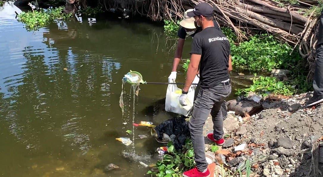 Coalición Cambiemos realiza jornada de limpieza en río Ozama