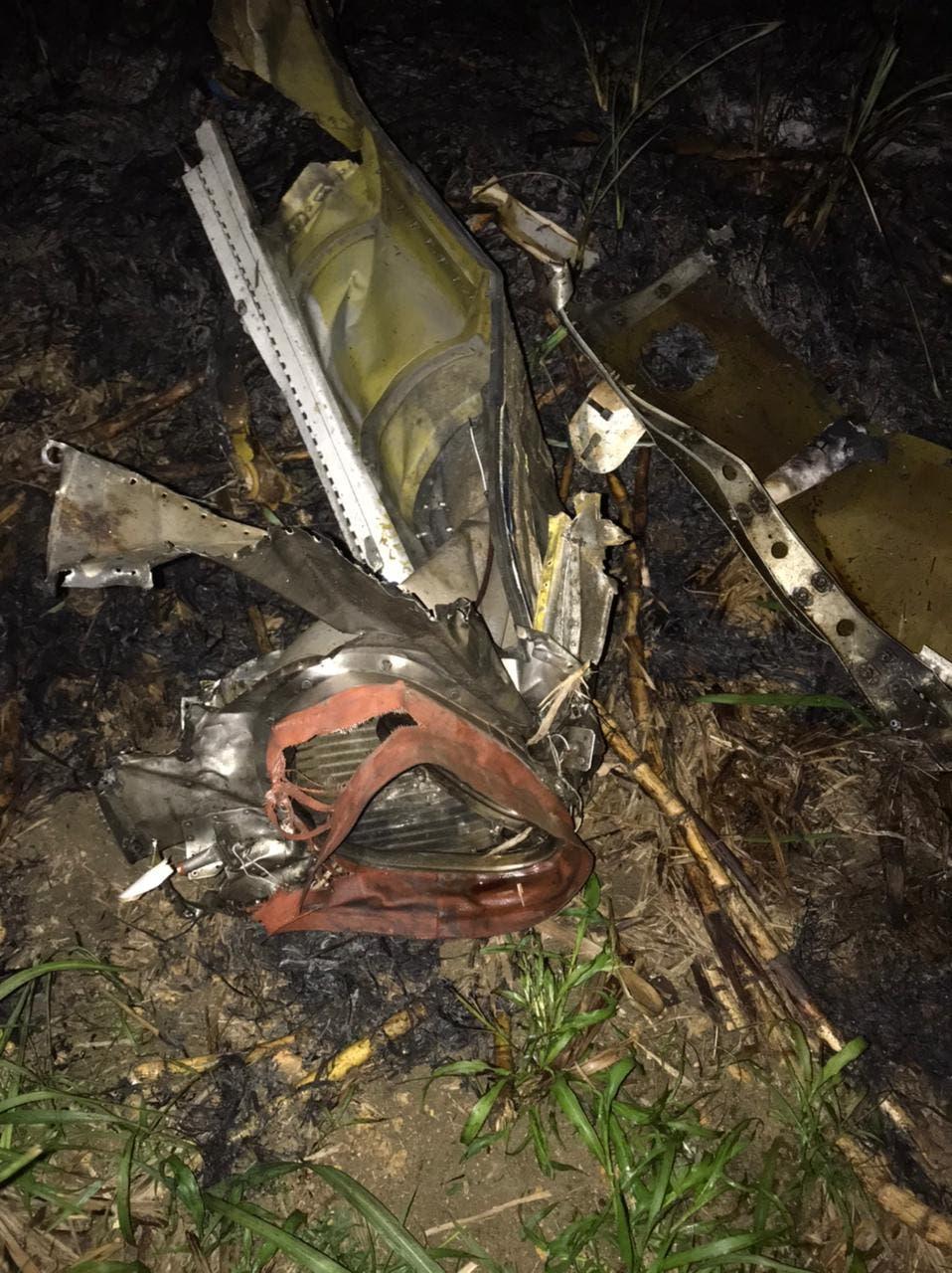 Se estrella avioneta era perseguida por un Súper Tucano; mueren sus dos ocupantes