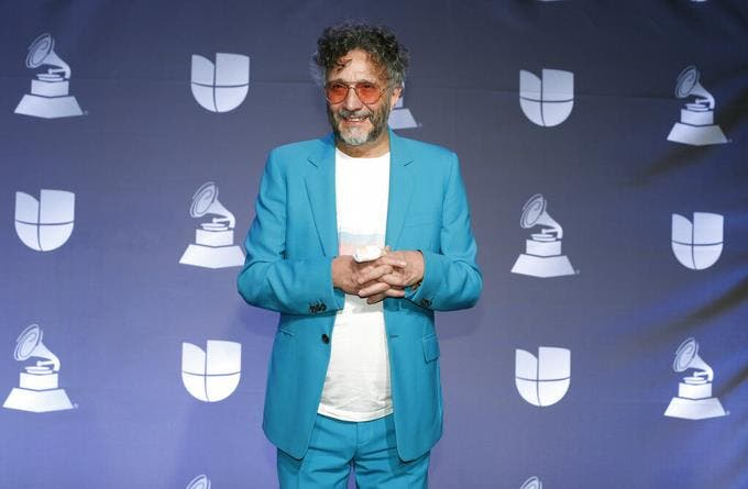Fito Páez, Natalia Lafourcade ganan premios Grammy