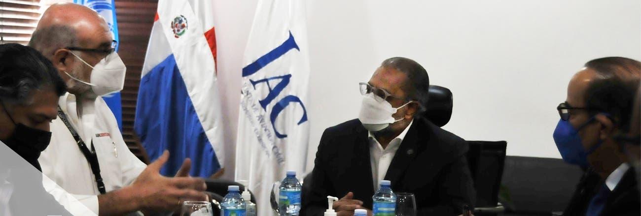 Presidente de la JAC afirma gobierno apoyará lineas aéreas nacionales