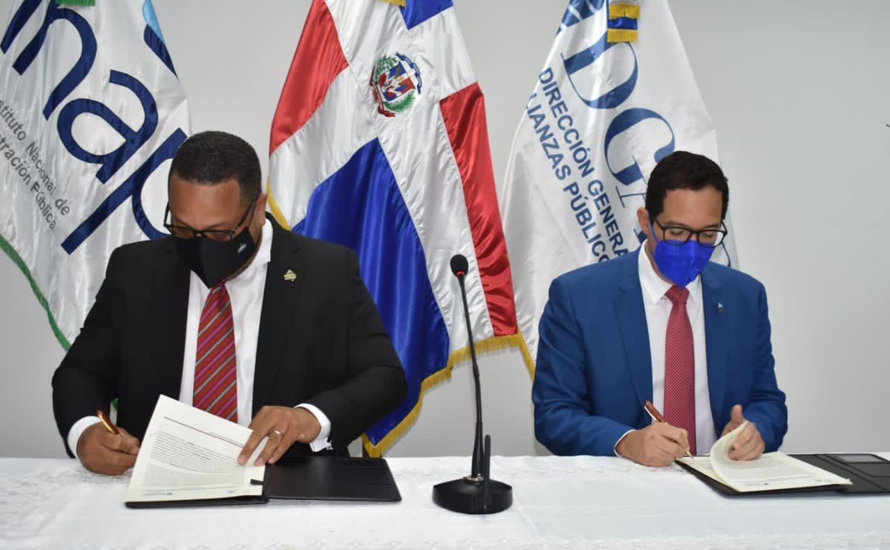 INAP y DGAPP firman acuerdo para proceso de capacitación servidores públicos