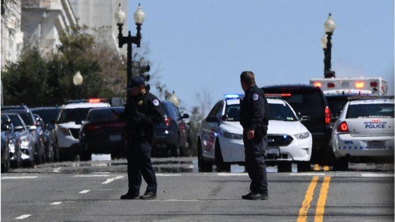 Ataque al Capitolio: un agente muerto y otro herido junto al Congreso de Estados Unidos