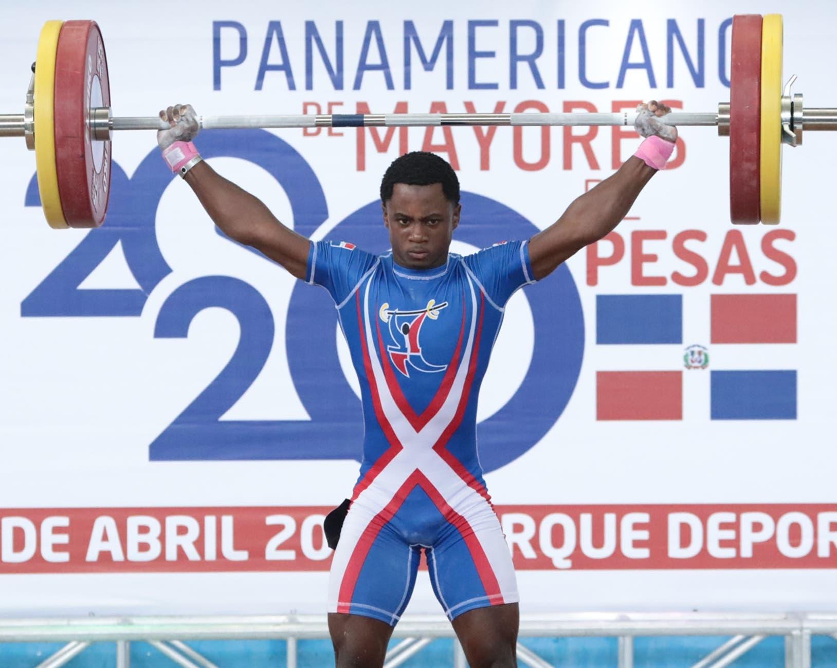 Yeison Michel Suárez gana oro y García plata en torneo de pesas
