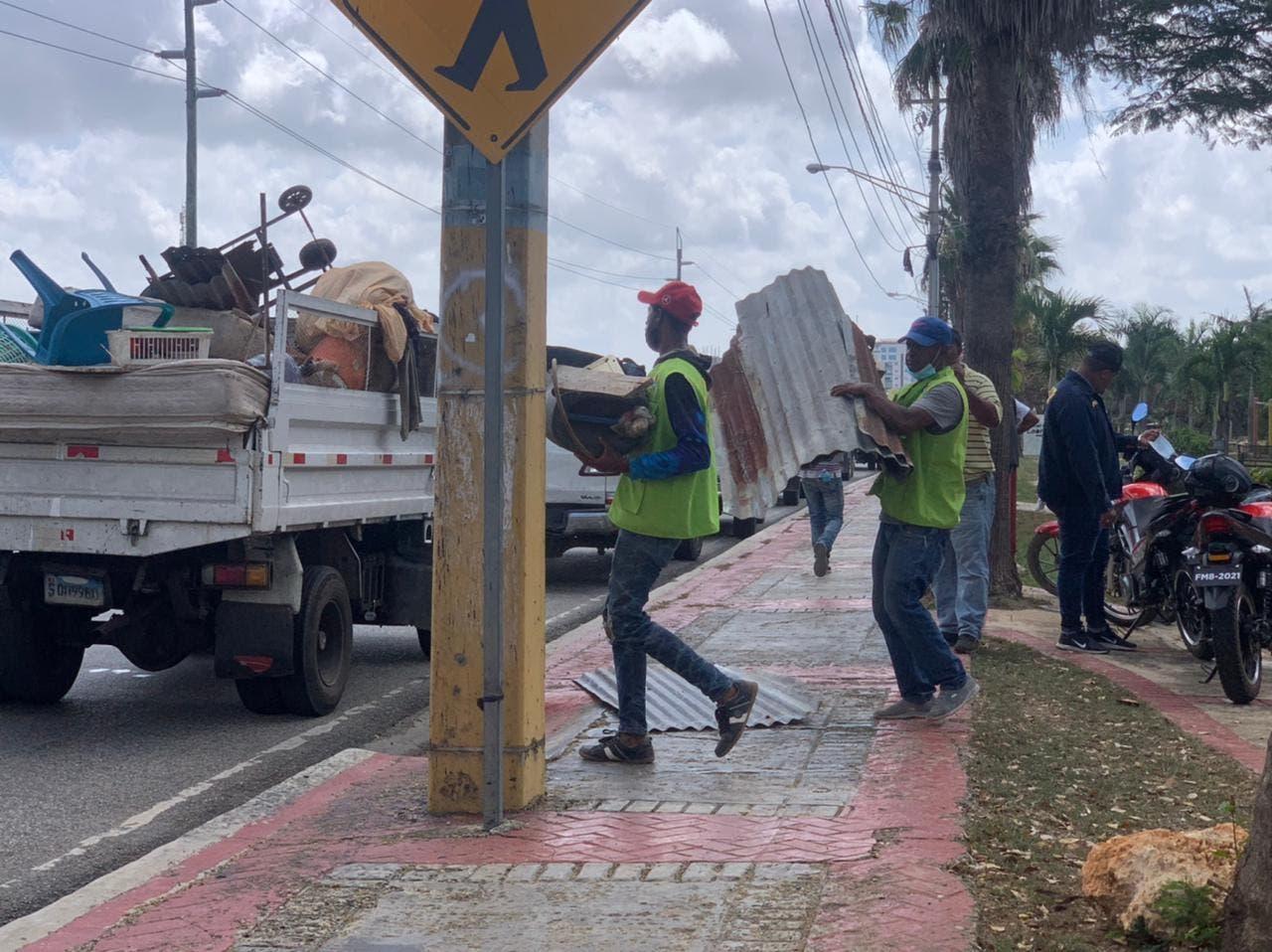 Alcaldía SDE detiene ocupación ilegal en avenida Ecológica