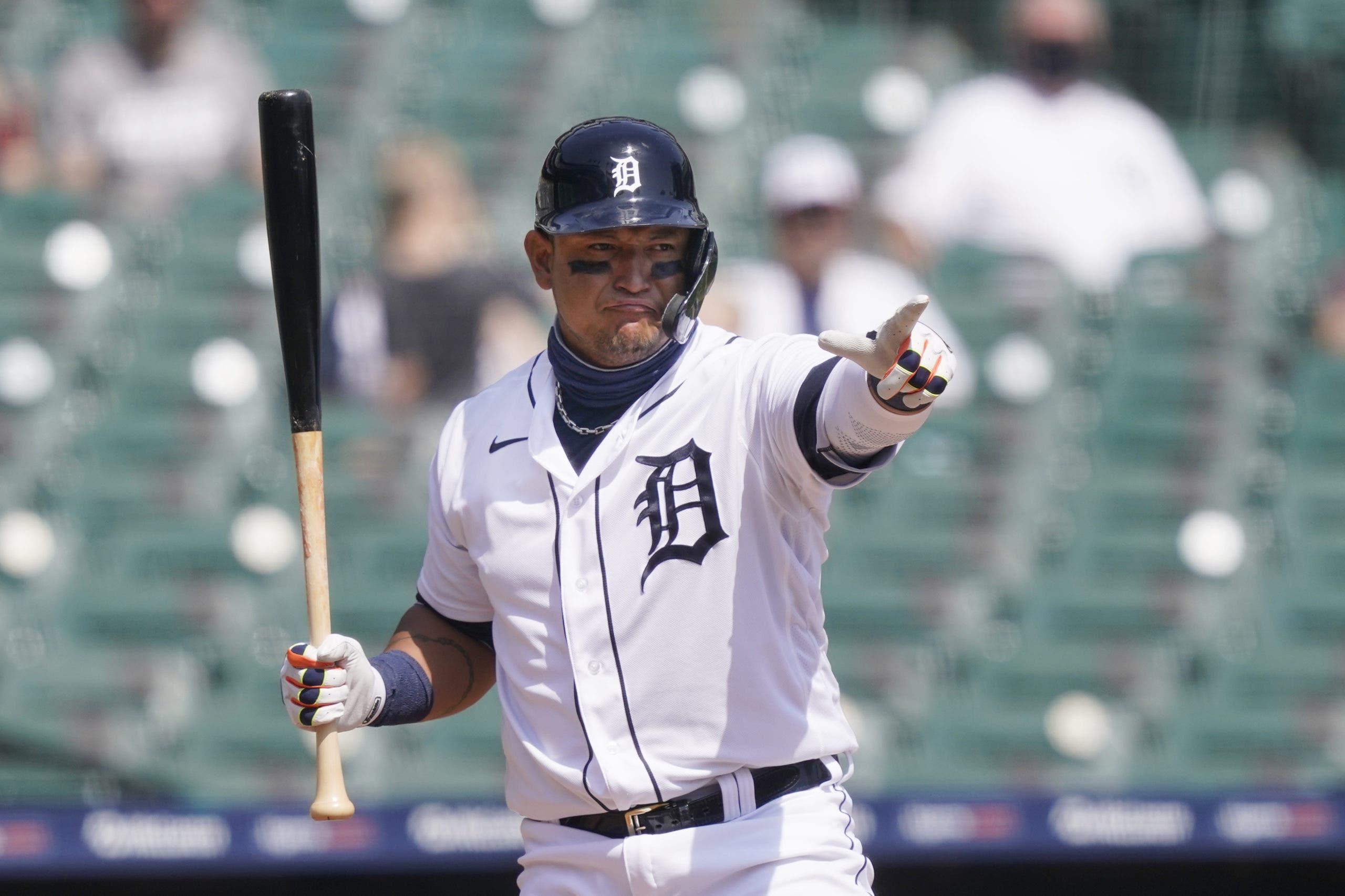 Miguel Cabrera en lista de lesionados de 10 días por lesión muscular