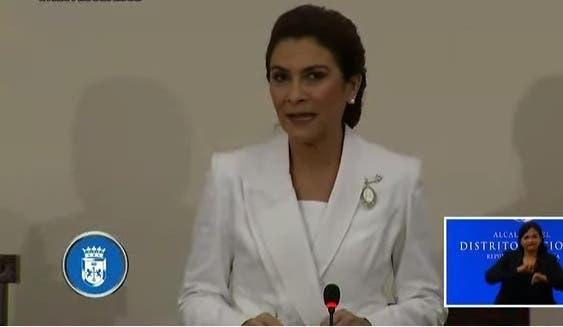 Carolina Mejía afirma han ahorrado más de 21% en facturas por recolección de basura