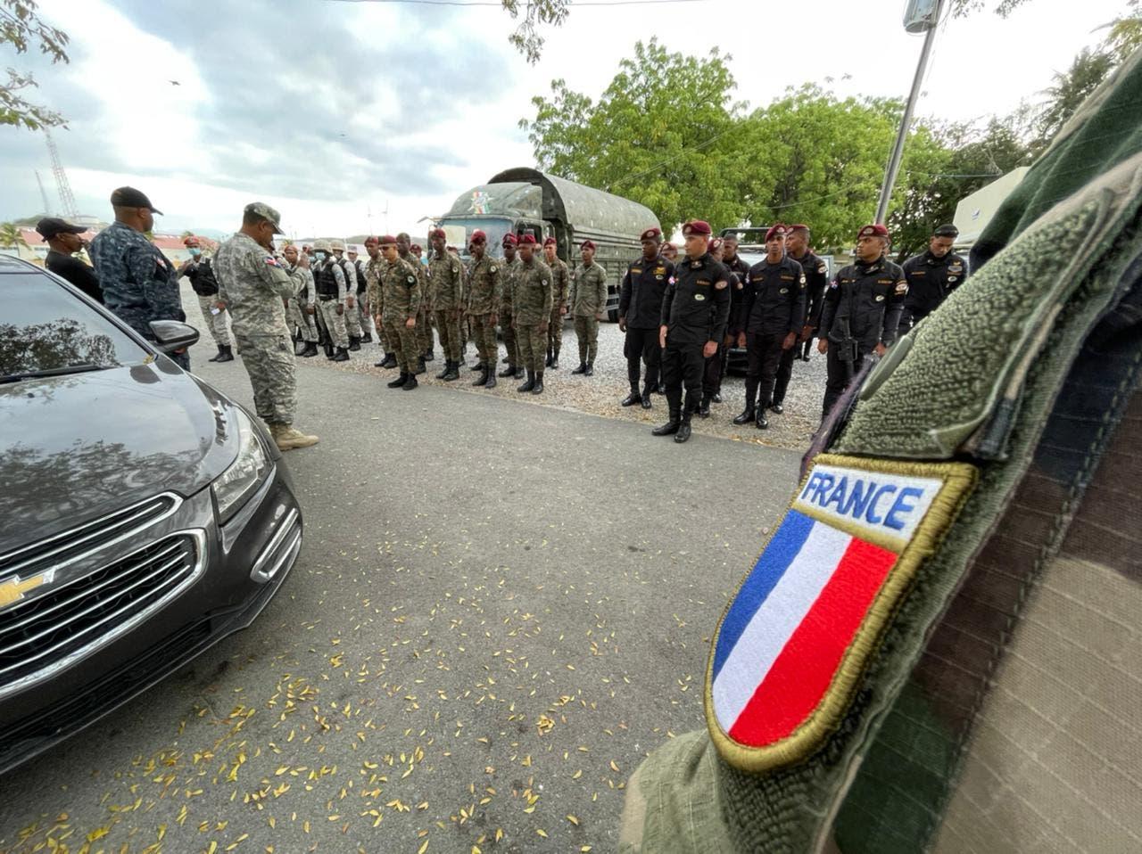 Fortalecimiento de la cooperación militar franco-dominicana