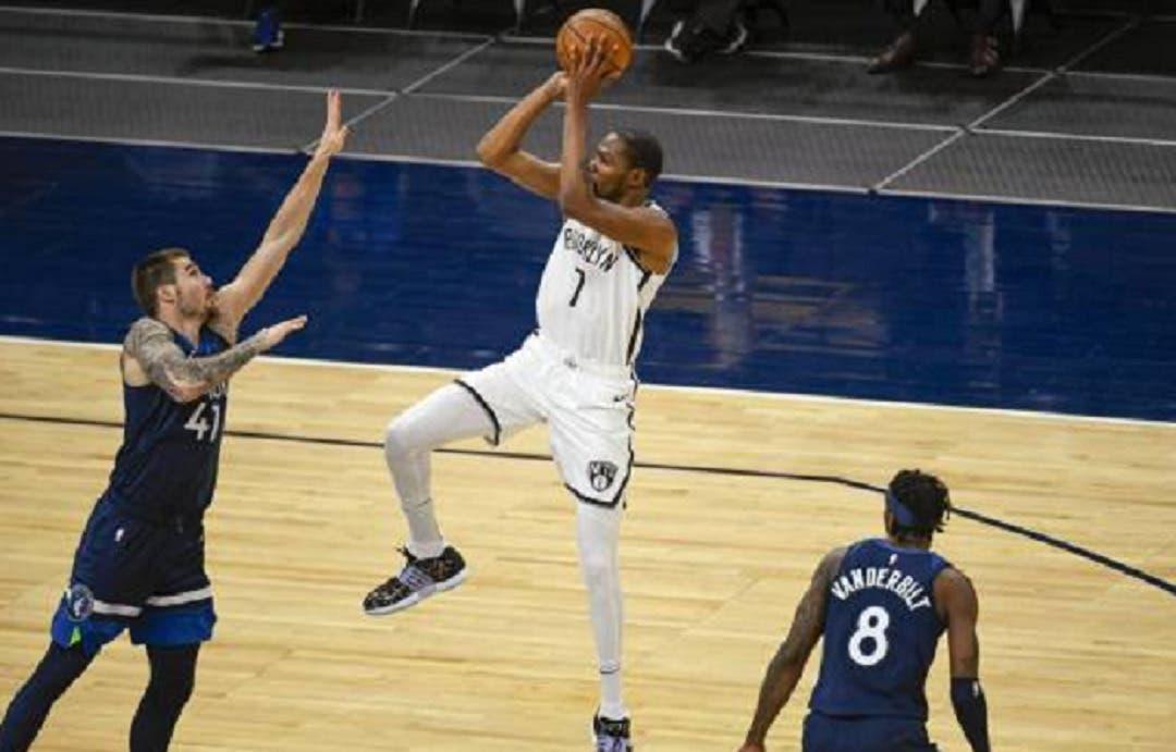 Kevin Durant anota 31 puntos para demoler a Minnesota Timberwolves