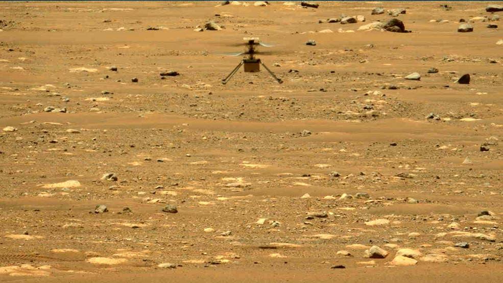 El helicóptero Ingenuity realiza con éxito su segundo vuelo en Marte