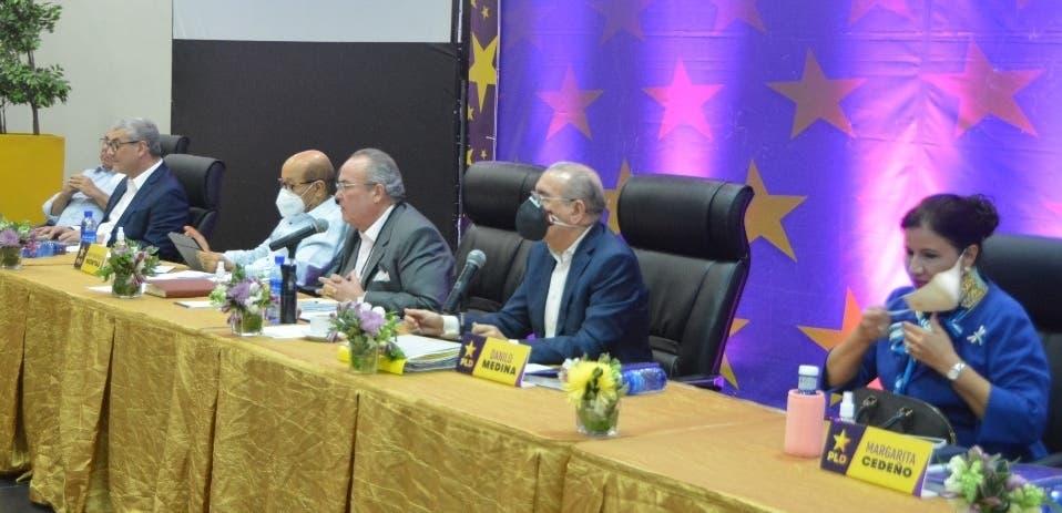 PLD concluye reunión de emergencia de Comité Político sin dar declaraciones a la prensa