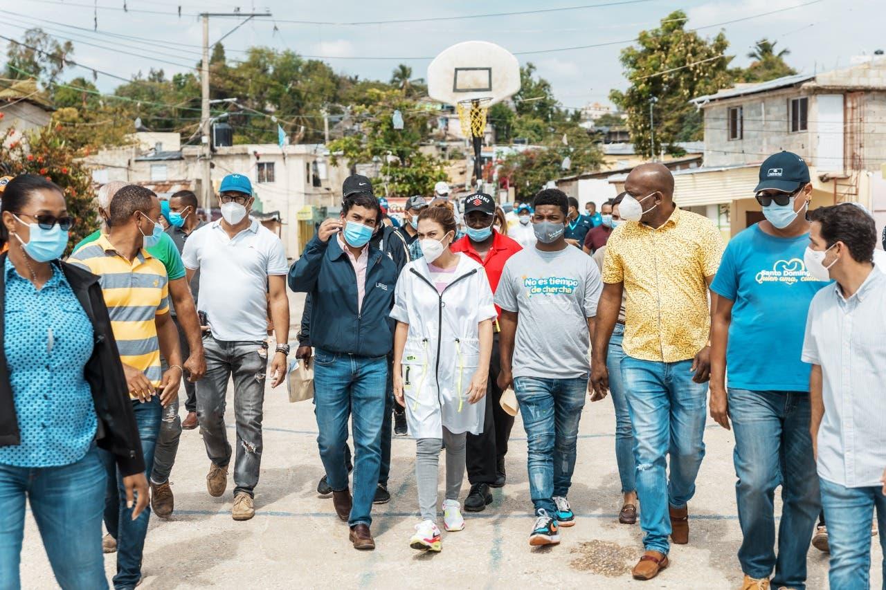 Alcaldesa Carolina Mejía inicia intervención de cañada de Bonavides