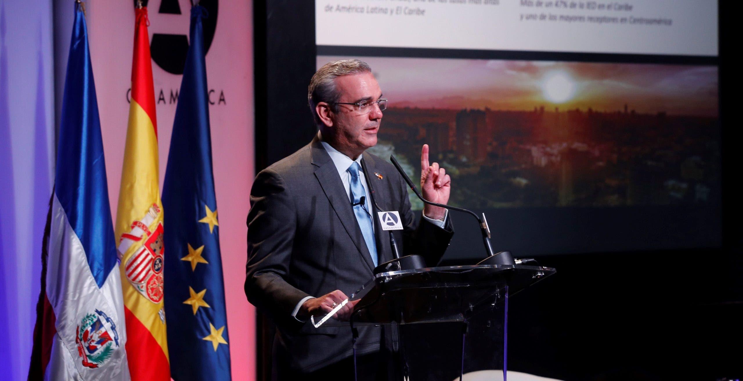 Abinader pide el respaldo internacional para solucionar situación de Haití