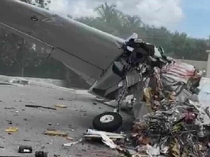 Tres muertos al estrellarse avioneta en Florida
