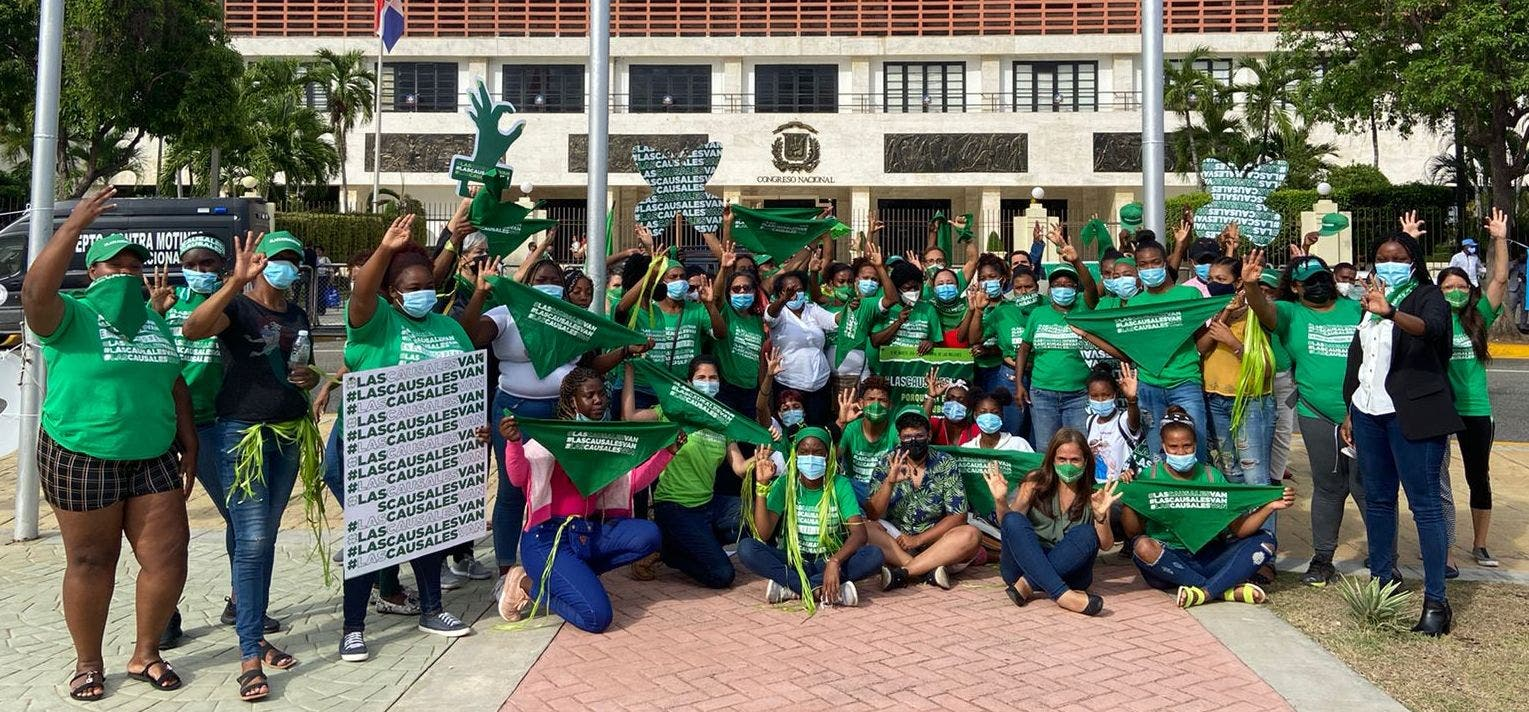 Movimiento por las tres causales llama a marcha nacional el 23 de mayo