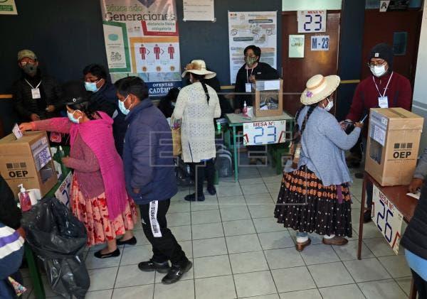 Bolivia cierra un desafiante proceso electoral tras la crisis de 2019 y en pandemia