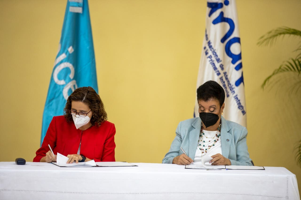 UNICEF y el Inaipi acuerdan trabajar para la reducción de la desnutrición aguda