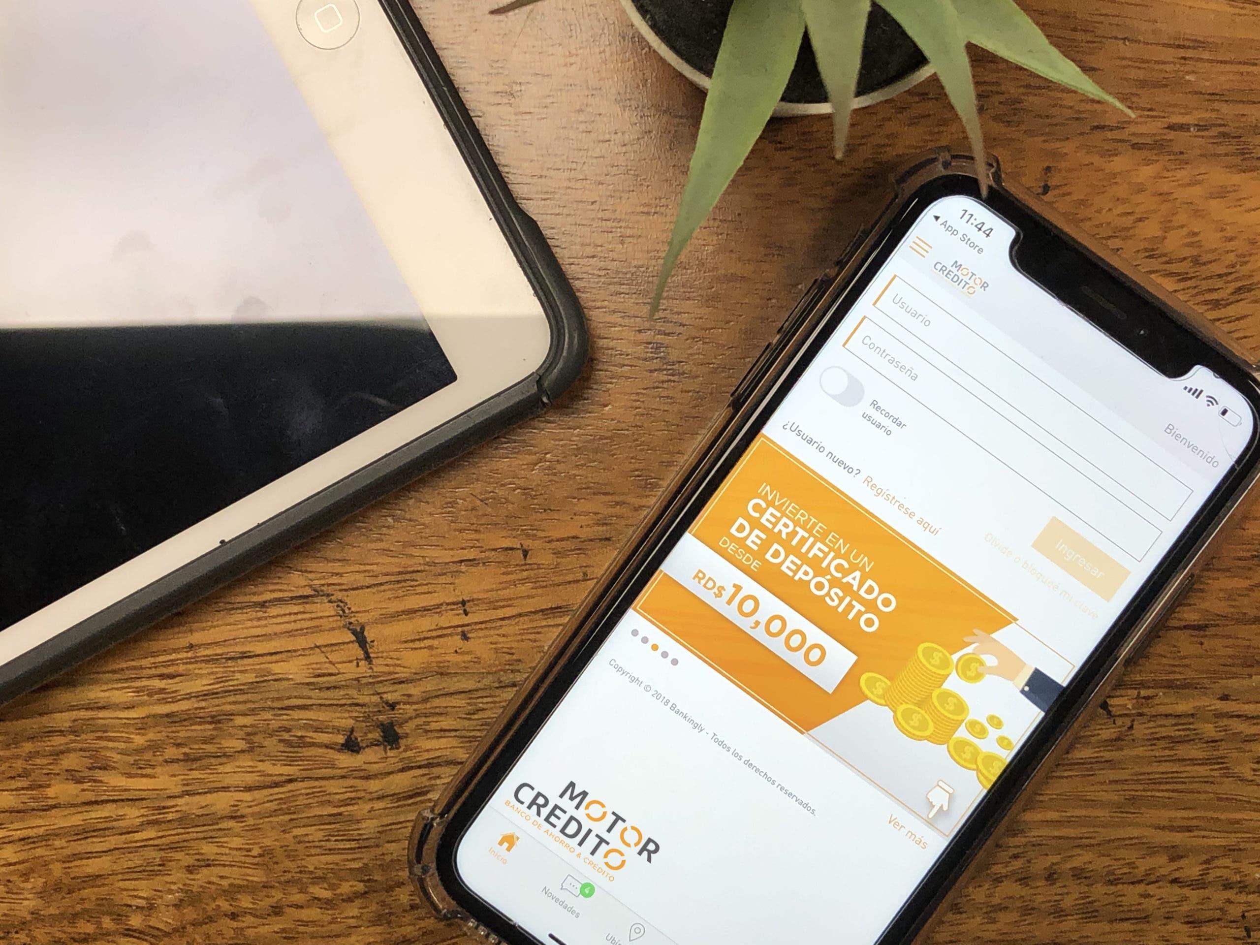 Motor Crédito presenta su nueva plataforma de banca en línea