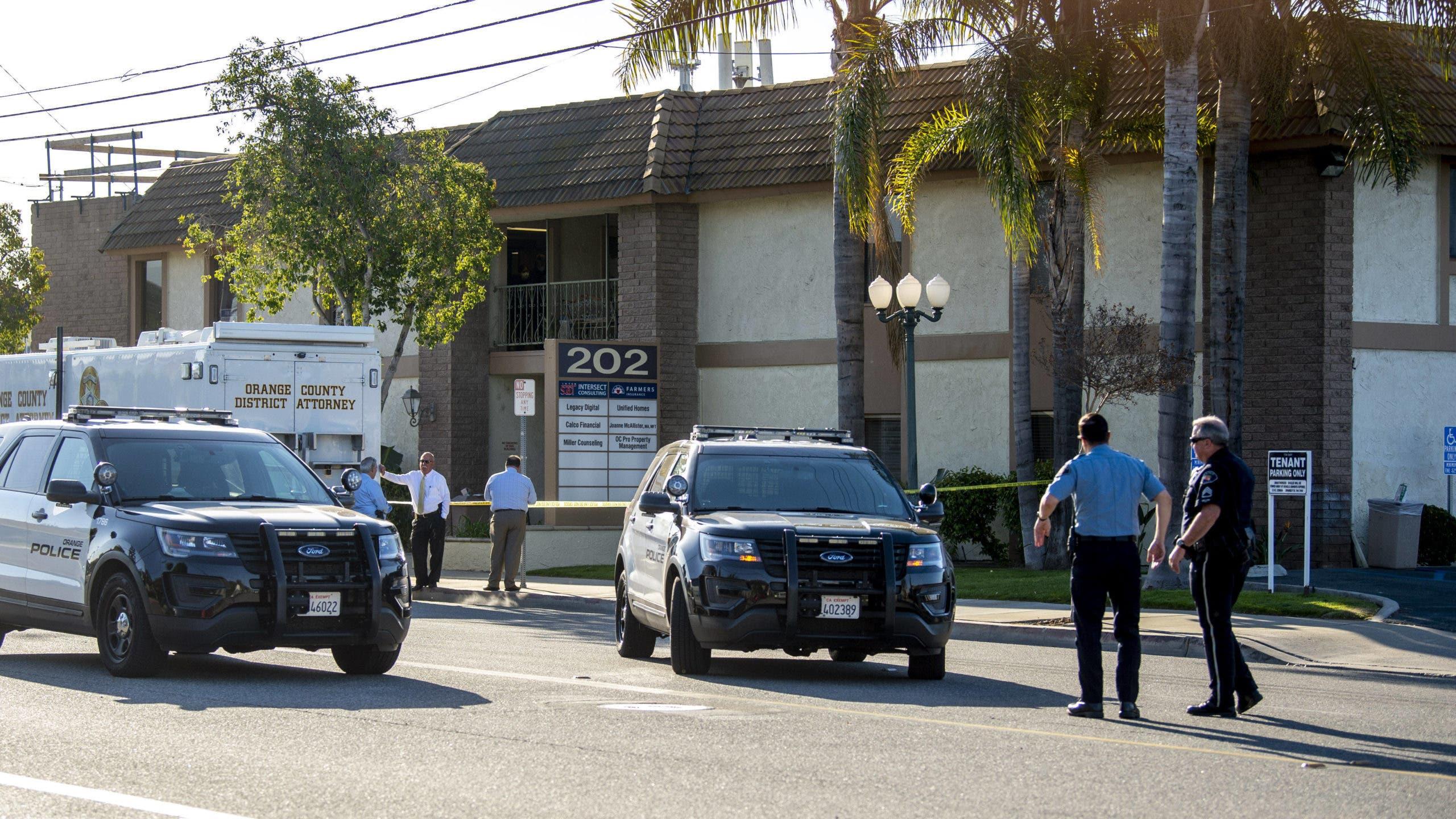 Al menos cuatro muertos por tiroteo en edificio de oficinas en California