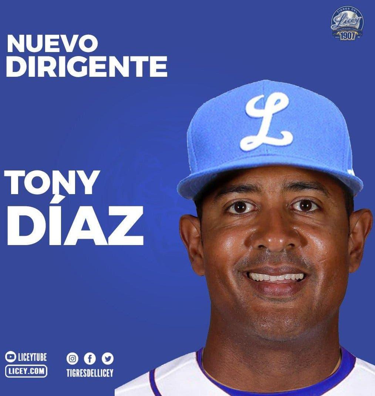 Tony Díaz dirigirá Licey en la temporada 2021-22
