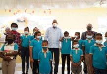 El acto tuvo lugar en la escuela Baitoita, perteneciente al Distrito Escolar 01-03 de Barahona.