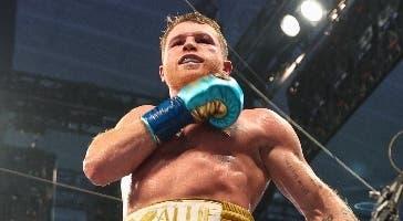 Canelo derrota  Saunders vía nocaut en el  noveno round