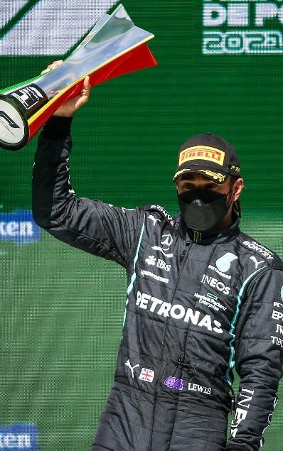 Hamilton se impone Gran Premio Portugal