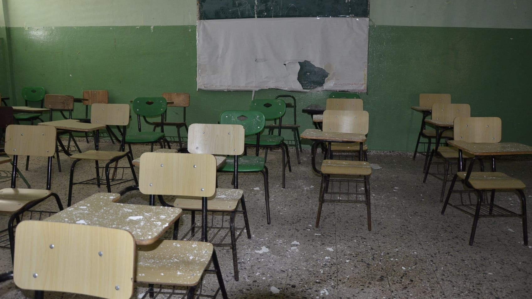 El mantenimiento ha sido nulo en las escuelas durante la pandemia