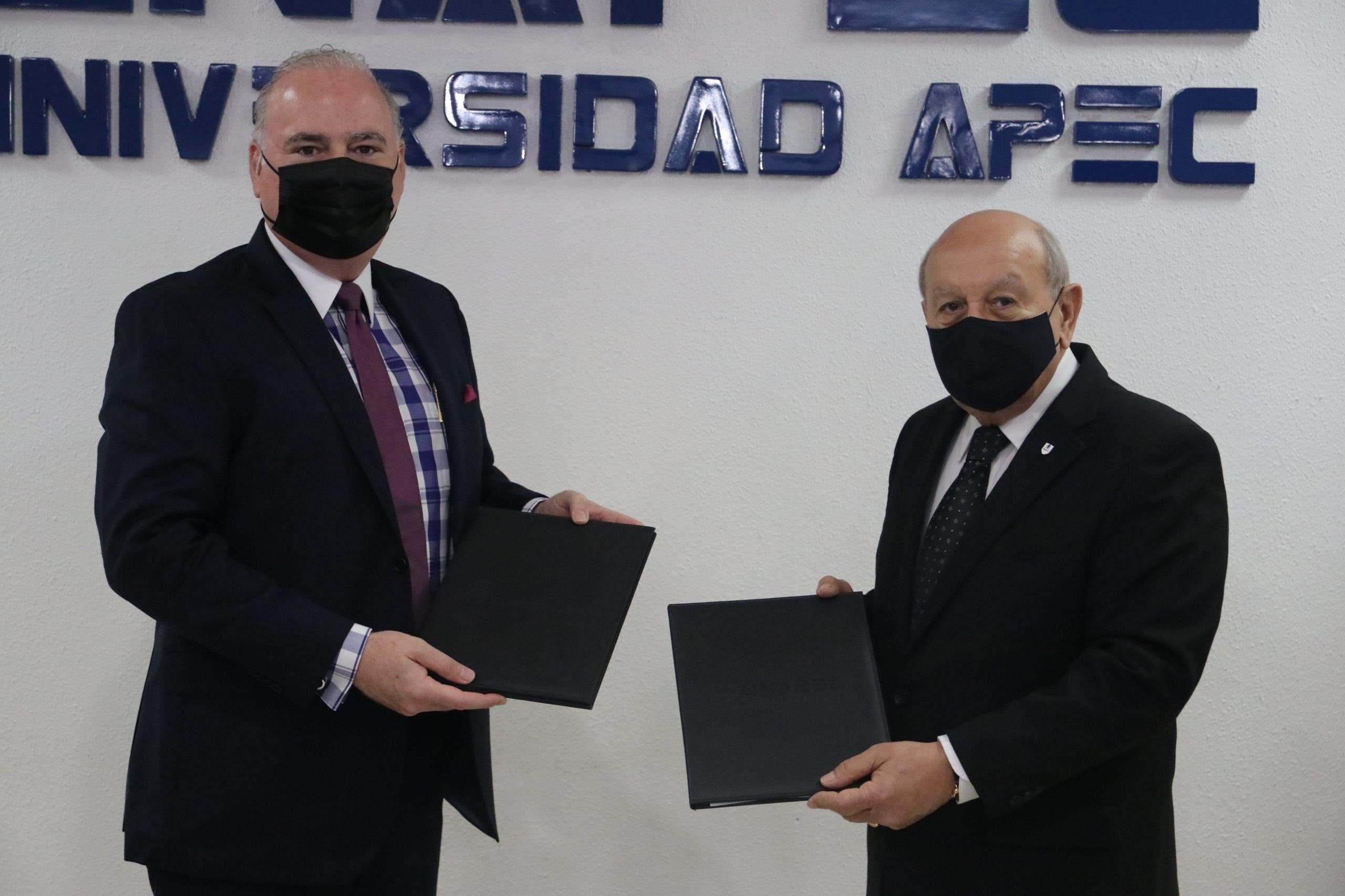 Unapec y Grupo Peña Defilló firman convenio de colaboración interinstitucional