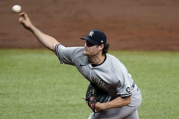 Cole poncha a 12 bateadores en la victoria de los Yanquis sobre los Rays