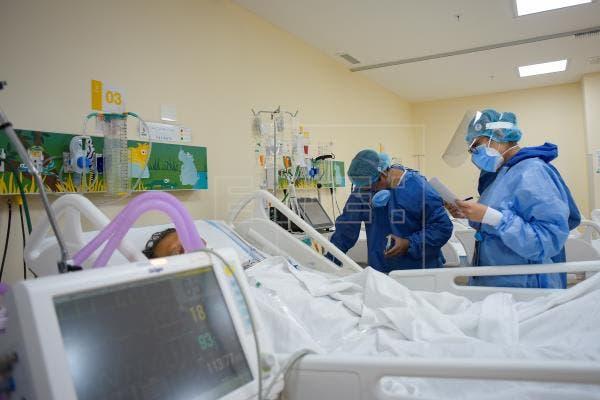 Baja ocupación hospitalaria y UCI para Covid-19, según Salud Pública
