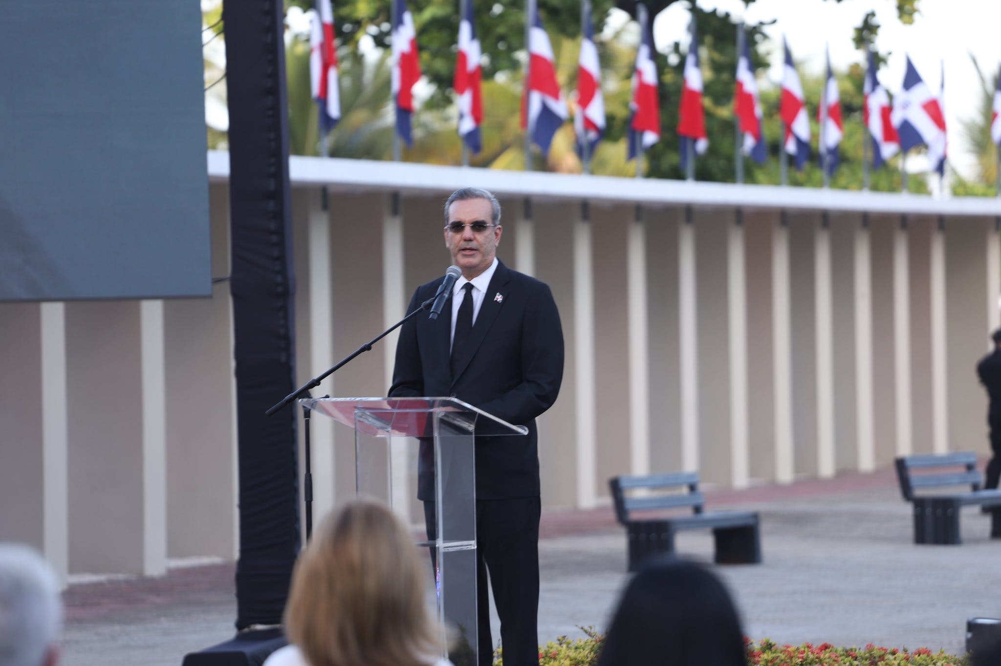 """Presidenten Luis Abinader encabeza apertura exposición """"1961: el año de la libertad"""""""