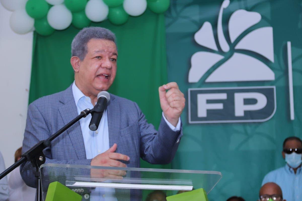 Leonel declara guerra sin cuartel contra narcotráfico y crimen organizado en futuro gobierno de Fuerza del Pueblo