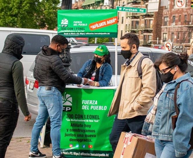 Inician en NYC afiliaciones masivas hacia la Fuerza del Pueblo