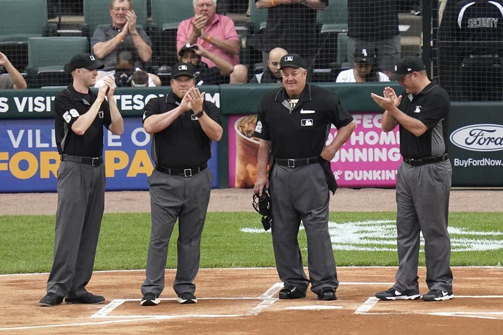 Joe West listo para romper récord de árbitros con 5,376  juego en MLB