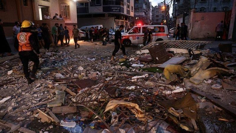 Bombardeo de Israel en Gaza deja al menos 20 muertos, entre ellos 9 niños