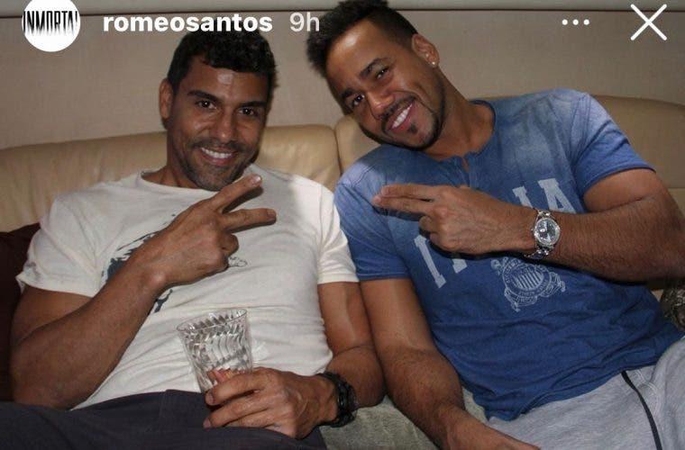 Bachatero Romeo Santos llora la muerte de su «Tío Eduardo» por Covid