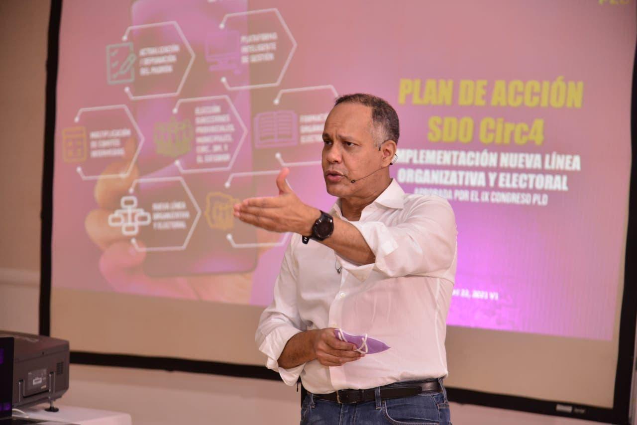 Armando García asegura reingeniería del PLD les llevará al poder en 2024