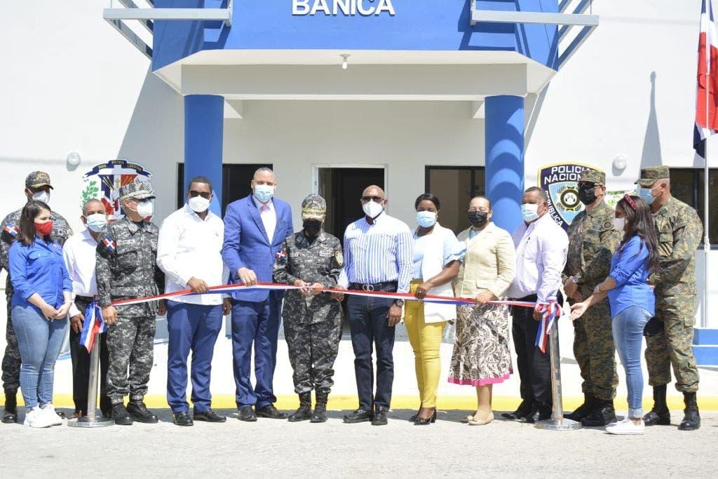 Autoridades fortalecen la seguridad ciudadana en Bánica con nuevo destacamento
