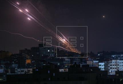El Ejercito israelí cifra en 1.500 los cohetes lanzados desde Gaza