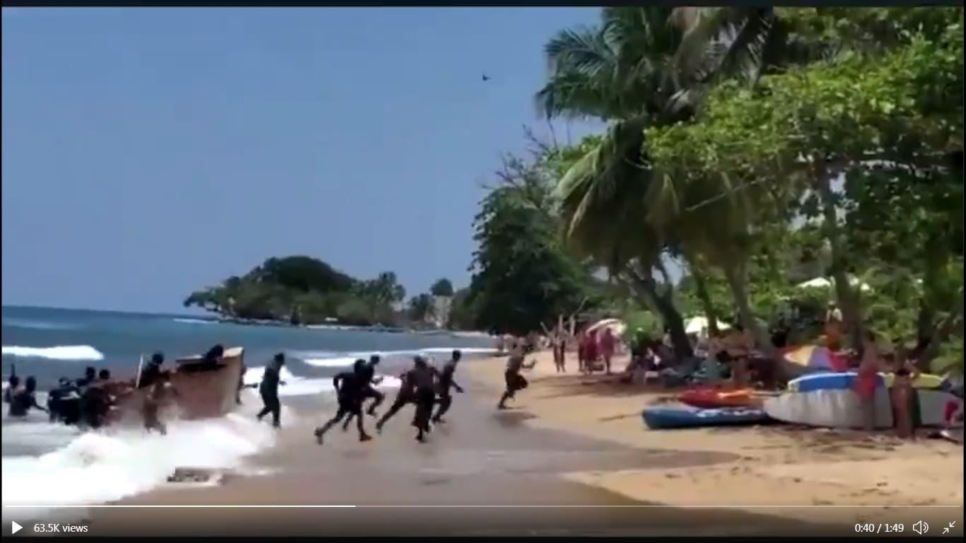 Detienen inmigrantes dominicanos llegaron en yola a Puerto Rico